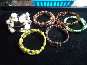 Beaded wrap around bracelets lot for Sale in Northumberland, PA