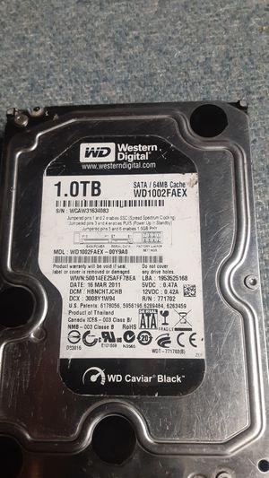 1.0TB Hard drive for Sale in San Jose, CA