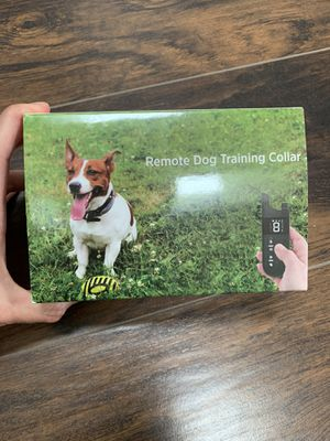 Dog Training Collar, Rechargeable Dog Collar 2000 Feet for Sale in Montville, NJ