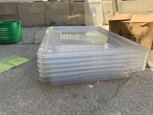 Plastic food storage containers for Sale in Queens, NY