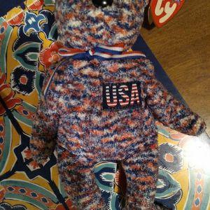 Ty 2000 Usa Bear Beanie baby for Sale in Lakeland, FL