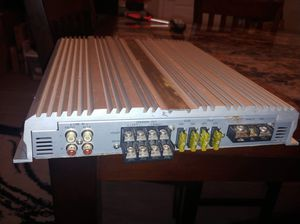 Eclipse 4-channel amp - underrated power and clarity! for Sale in La Vergne, TN