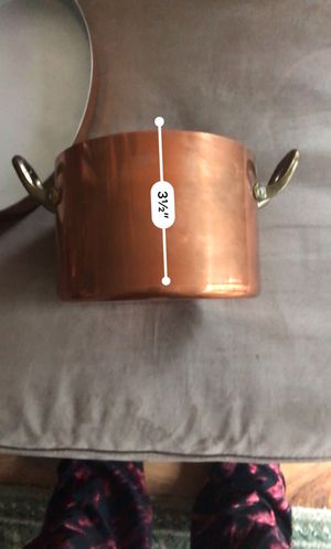 Copper pot no lid for Sale in Downers Grove, IL