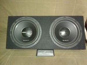 Two brand-new Orion 12 1000w double Voice Coil In The Box brand new for Sale in Flamingo, FL