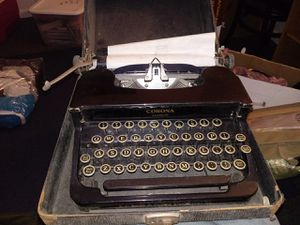 Vintage Corona standard Typewriter for Sale in Silver Spring, MD