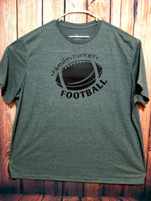 3xl family Turkey football men's shirt for Sale in Bartonville, IL