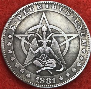 Very large 666 occult coin. First $15 offer automatically accepted. Shipped same day. $5 off for today only . Normal price $20 for Sale in Portland, OR