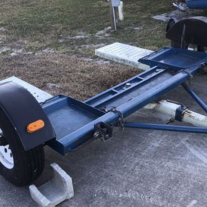 For Sale Car Dolly Heavy Duty With Straps And Spare Tire Like New for Sale in Frostproof, FL