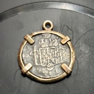 14k Carolus Iii Dei Gratia Coin From 1700's for Sale in Cape Coral, FL