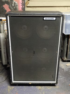 Acoustic bass and guitar amp 6x10 very loud cab for Sale in Pico Rivera, CA