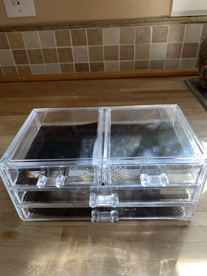 Plastic 4 drawer storage box for Sale in Puyallup, WA