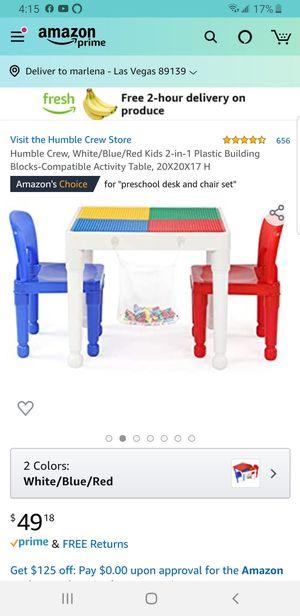 Kids building block table for Sale in Las Vegas, NV