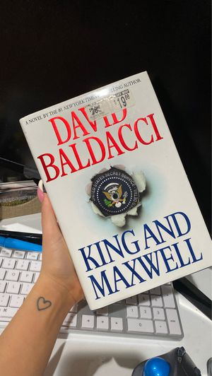 King and Maxwell (King & Maxwell Series) by Baldacci, David; Hard Cover for Sale in Miami, FL