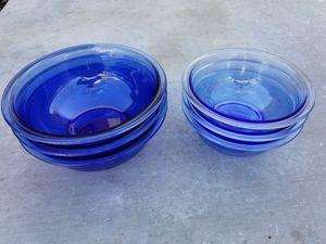 New Pyrex Cobalt Blue 1.5L & 1L mixing bowls for Sale in Glendora, CA