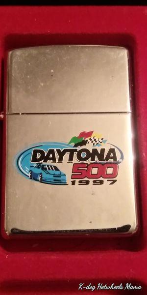 Daytona 500 vintage authentic Zippo lighters for Sale in Nashville, TN