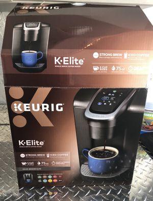 Keurig Elite coffee maker $49 for Sale in New Port Richey, FL