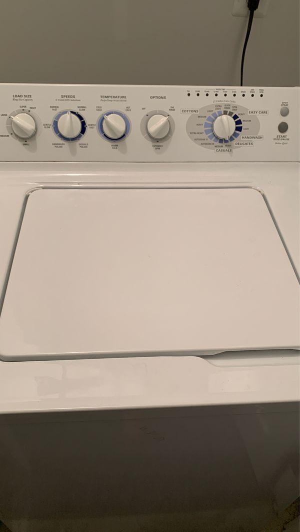 GE General Electric Washer & Dryer set