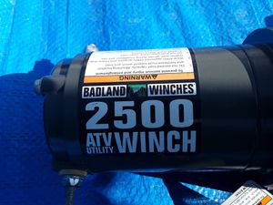 Badland 2500lb wench..call {contact info removed} for Sale in Wenatchee, WA