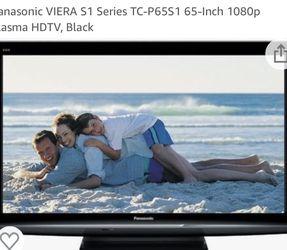 "65"" Panasonic 2009 Flatscreen Tv for Sale in Kirkland,  WA"
