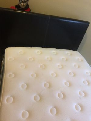 Bed with back board for Sale in Dallas, TX