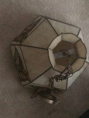 Tiffany style hanging lamp for Sale in Springfield, VA