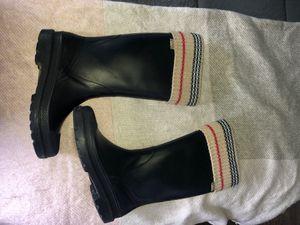 Burberry rain boots for Sale in Allen Park, MI