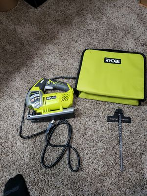 Ryobi JS651L1 6.1A Variable Speed Orbital Jigsaw - open box for Sale in Victorville, CA