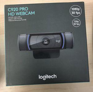 C920 Pro HD Webcam Logitech for Sale in Hacienda Heights, CA