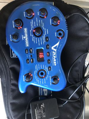 VAMP. Guitar effects processor. Includes power supply , cable and bag for Sale in Lemon Grove, CA
