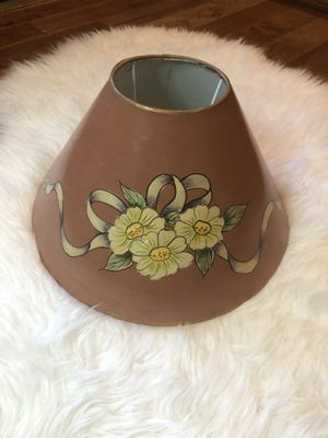 Vintage metal lamp shade for Sale in Rochester Hills, MI