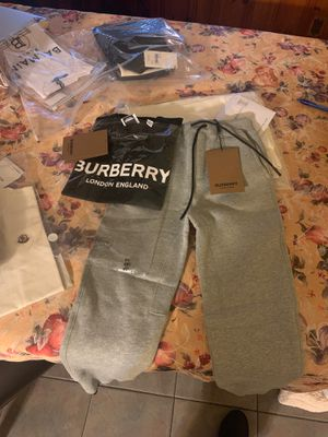 Burberry sweats (140&) and shirt (90$) for Sale in Everett, MA