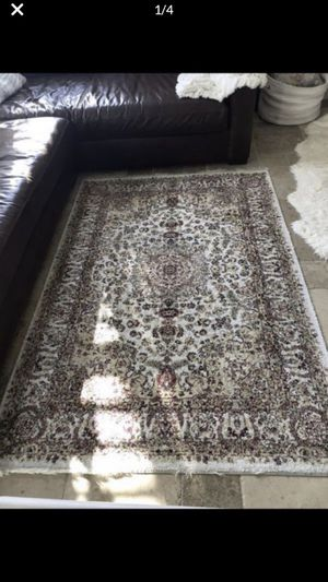 Rustic Turkish wool and silk rug. Still has a lot of life left to it for Sale in Temecula, CA