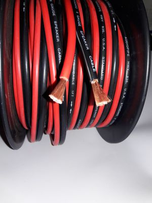 New 8 gauge speaker wire FULL SPEC for Sale in Vernon, CA