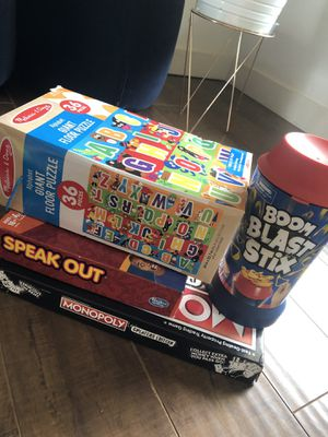 Bundle of games & puzzle for Sale in Travelers Rest, SC