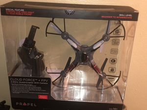 Propel Video Drone Cloud Force 2.4 GHZ w/built in camera for Sale in District Heights, MD