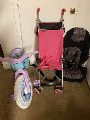 Car seat, tricycle and stroller. Toddlers bundle set for Sale in Woodbridge, VA