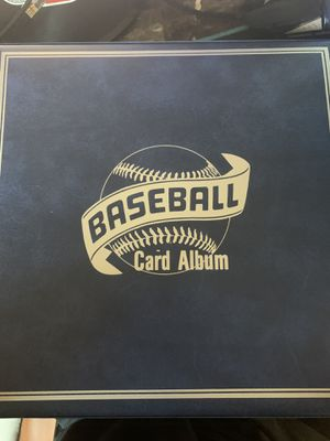 Baseball card album for Sale in Westminster, CA