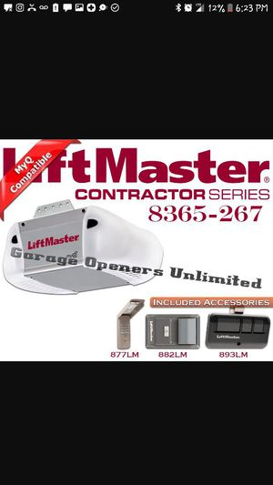 Liftmaster garage door opener w/ remote,keypad for Sale in Cleveland, OH