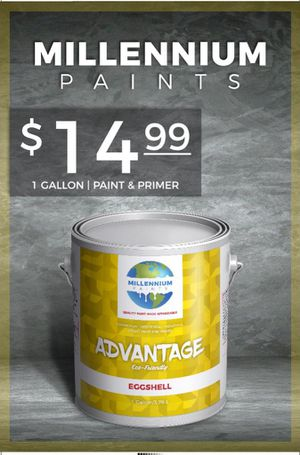 Eggshell single gallons $14.99 We color match🎨 Save now! Give your home a new look for Sale in Glendale, CA