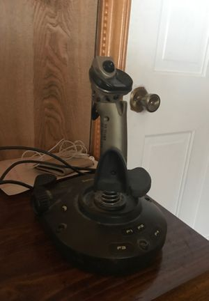 Cyborg 3D gold usb | joystick for pc airplane games for Sale in Traverse City, MI