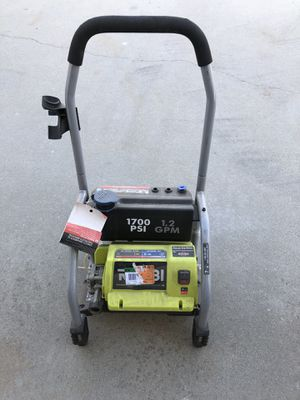 (6) Ryobi Pressure washer 1700psi electric for Sale in Fresno, CA