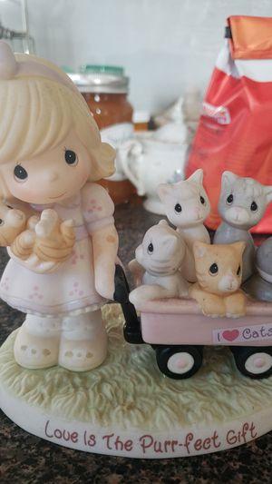 Love is purrfect precious moment figurine for Sale in North Smithfield, RI