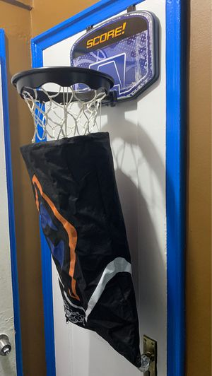Wham-o Hamper Hoops - Basketball Goal Clothes Hamper for Sale in Queens, NY