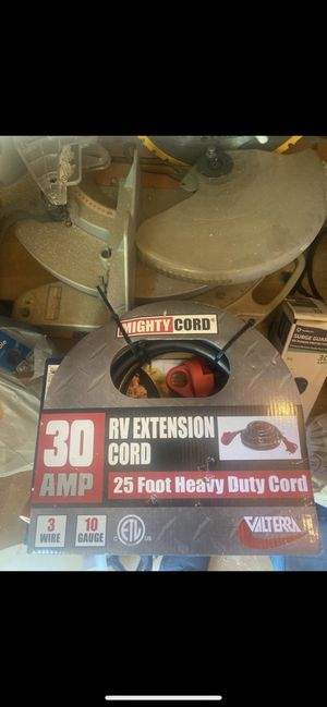 25' 30 AMP RV Extension cord for Sale in Clearwater, FL
