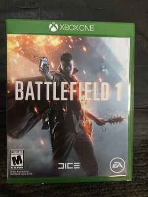 Battlefield 1 for Xbox 1 for Sale in Manassas, VA