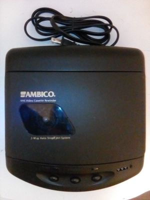 Ambico® V-0759A VHS 2-Way Tape Rewinder for Sale for Sale in San Jose, CA
