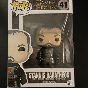 Stannis Baratheon Game Of Thrones Funko Pop for Sale in Miami, FL