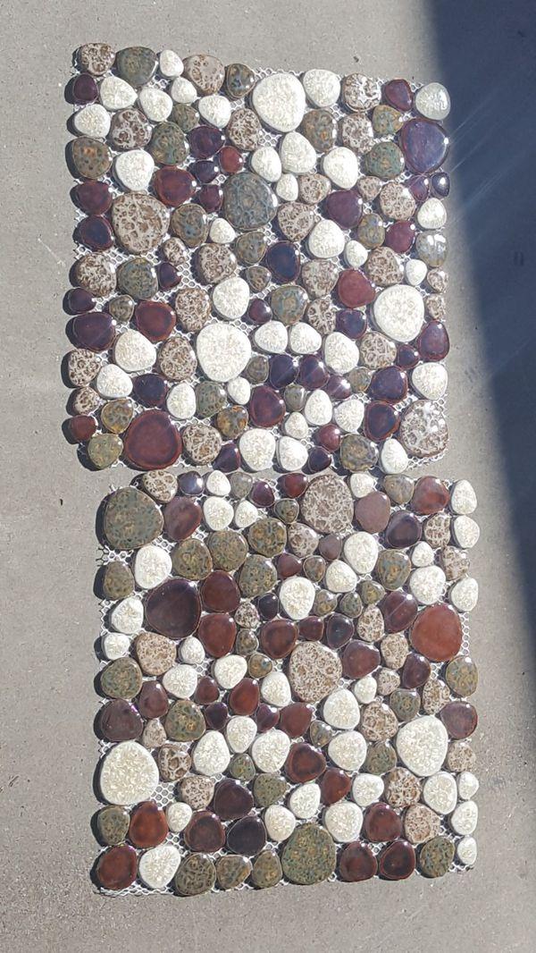 300 sqft earthy style glass tile !!!