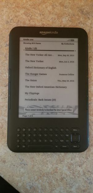 Amazon Kindle for Sale in Hazelwood, MO
