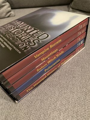 HAUNTED HISTORIES COLLECTION DVD - Free! for Sale in Glenview, IL